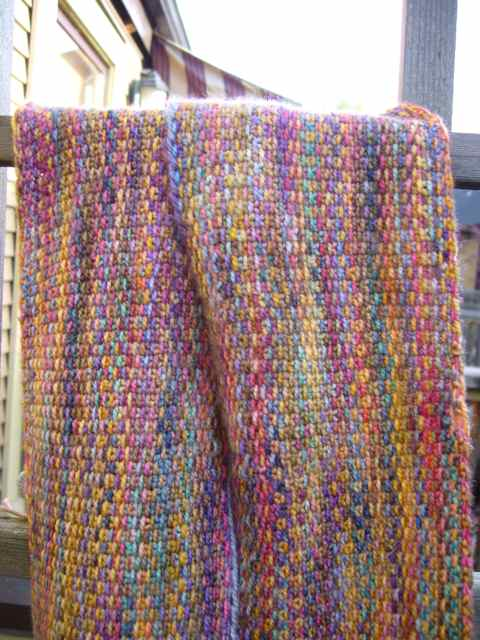 Knitting Linen Stitch On Circular Needles : The Linen Stitch Scarf Part 2 Three Bags Full Yarn Store - Vancouver, Canada
