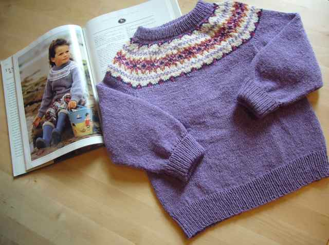 """The Boy's """"Easter Egg"""" Sweater 