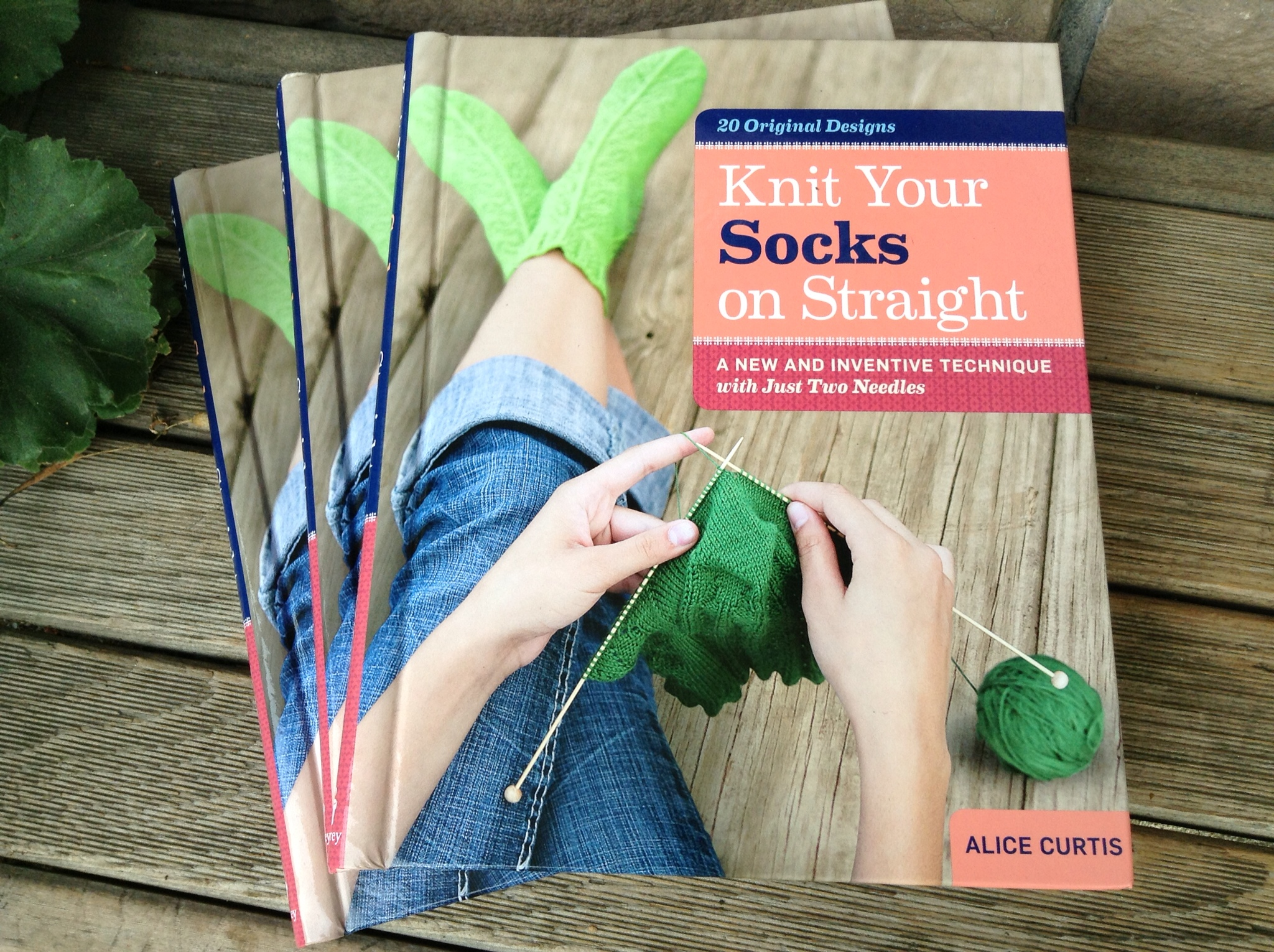 Knit Your Socks on Straight: A New and Inventive Technique with Just Two Needles